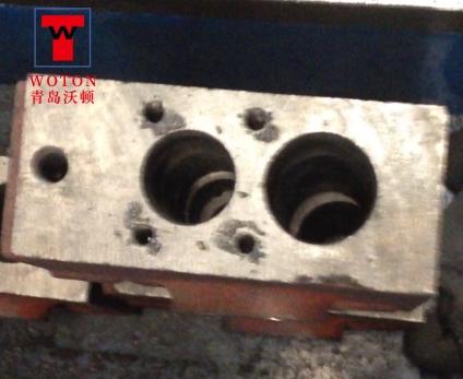 多路阀体分配器双联多轴钻孔攻丝机