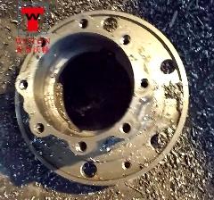 汽车轮毂三工位数控滑台式多轴钻沉攻专机