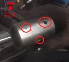 汽车配件四工位转盘式加工专机