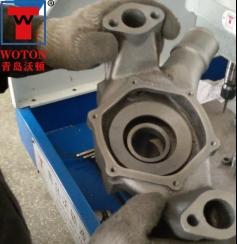 汽车水泵泵盖多轴攻丝机加工