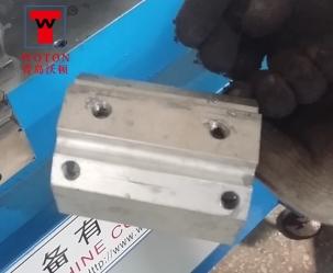 铝件四工位二角度二卧式滑台式多轴钻攻专机