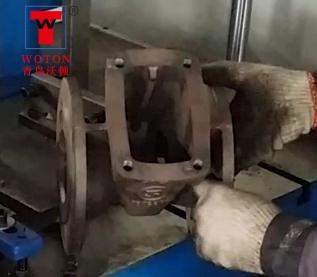 阀门二工位双联多轴钻攻机