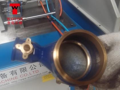 水表阀卧式多轴钻孔机