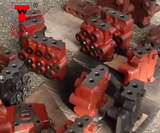 多路阀分配器二工位数控滑台式多轴钻攻专机
