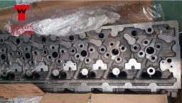 工程机械发动机气缸盖六工位钻攻专机