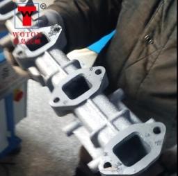 汽车排气管多轴钻孔加工