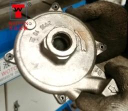 柴油冷却泵双联滑台式钻攻专机