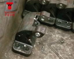 汽车铰链合页四工位数控多轴铣钻铰加工专机