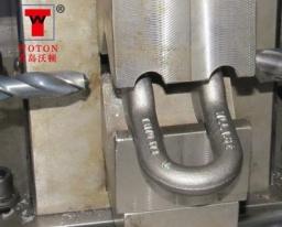 索具卸扣二工位液压对加工专机