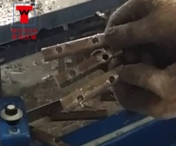 棒材多轴钻床(一次3件)