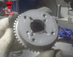 汽车发动机齿轮二工位双联多轴钻攻机