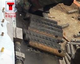 螺纹管二工位卧式滑台多轴钻攻专机(一次4件)