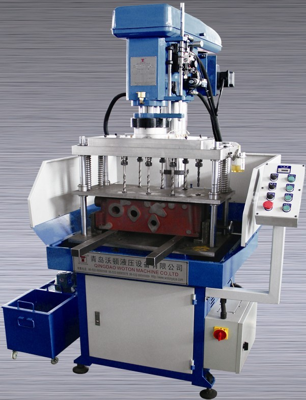 WTZZ-35桌式液压自动多轴钻床