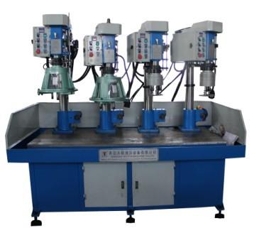 桌式四工位加工自动钻床