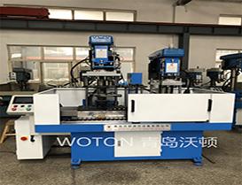 汽车水泵二工位滑台式加工专机