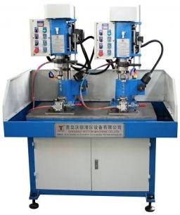30双联桌式自动退屑型液压自动钻床
