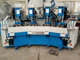 立式四工位自动钻床
